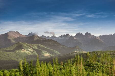 Tatra Mountains summits: Szeroka Jaworzynska, Gerlach, Konczysta, Ganek, Wysoka, Rysy