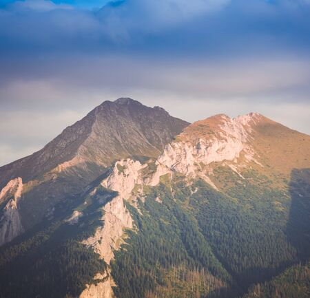 Hawran and Nowy Wierch - one of the most spectacular summits of Slovakian Tatra Mountains Range