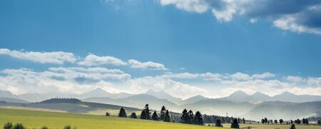 Tatra Mountains landscape in summer, Poland Banco de Imagens