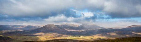 Munros of Perthshire: Carn Liath, Airgiod Bheinn, Beinn AGhlo, Carn nan Gabhar Banco de Imagens