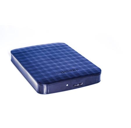 Perth, Scotland - 4 November 2019: Samsung external drive - External Solid State Drive - 2 TB