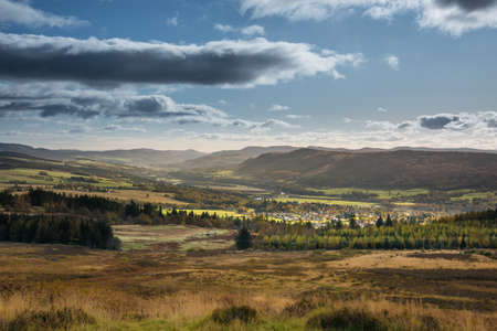 Mountains and forests around Pitlochry in Perthshire | In the heart of Scotland | Perth and Kinross