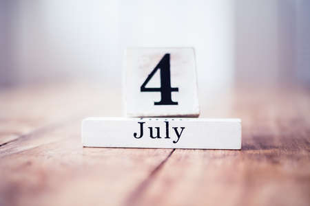 4th of July, 4 July - Independence Day in United States of America
