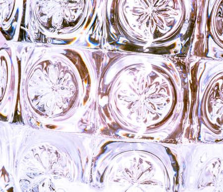 Ornamental glass decoration - minimalist background Stock fotó