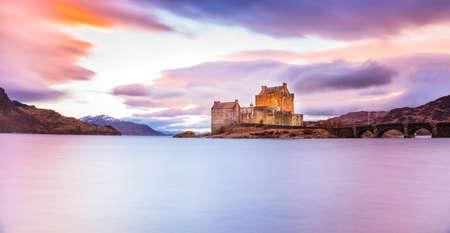Isle of Skye and Eilean Donan Castle Editorial