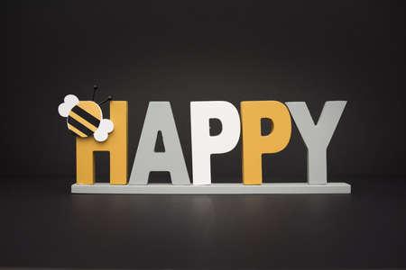 Be happy concept Standard-Bild