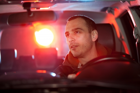 Man chaced and pulled over by police