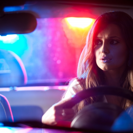 Woman chased and pulled over by police photo