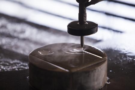 Waterjet metal cutter
