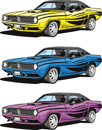 barracuda: Car models