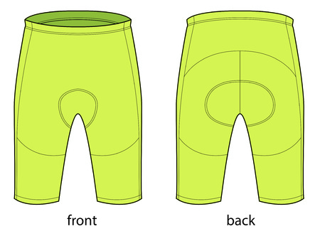 Short bicycle pants