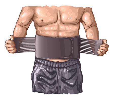 Fitness belt Stock fotó - 87713226