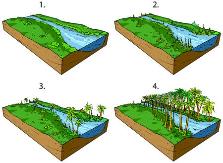 Paleozoic Ilustrace