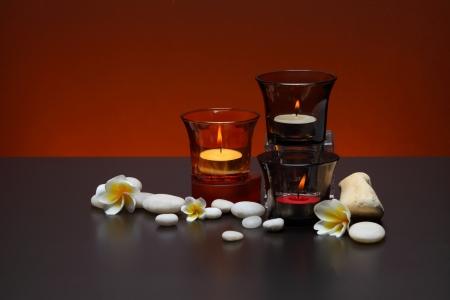 candlelit: candle