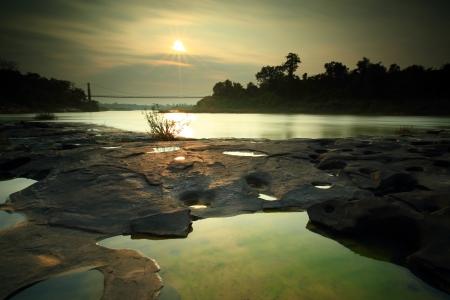 kaeng: Kaeng Tana National Park, Ubonratchani, Thailand.