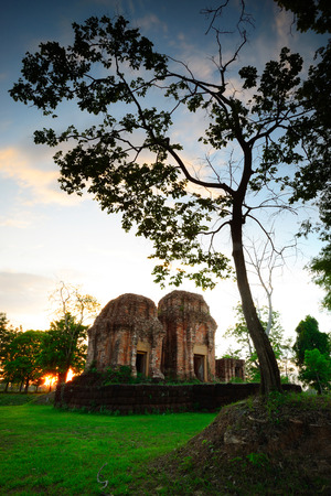 Prasat Thong Lang castle rocks in the North east of Thailand. Stock Photo