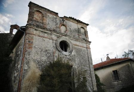 abandonment: abandoned church Stock Photo