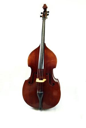 An antique double bass