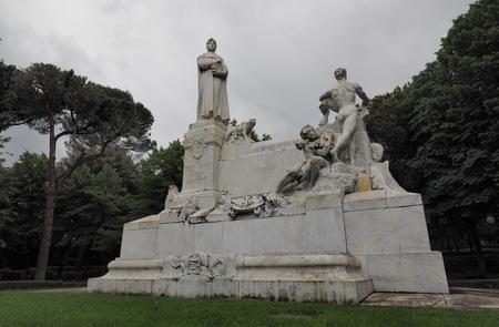 Monument to Petrarca, Arezzo, Italy