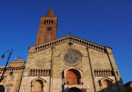 Facade Dome of Piacenza, Santa Maria Assunta Cathedral