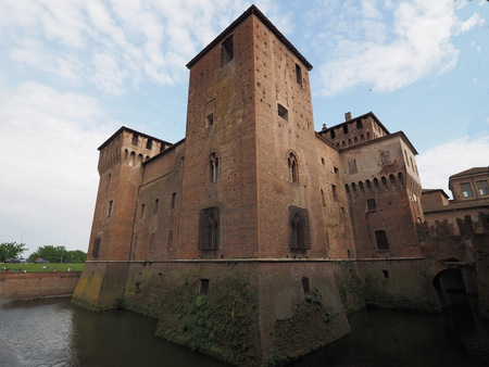 Castle of Ducal palace of Mantua. Lombardy, Italy