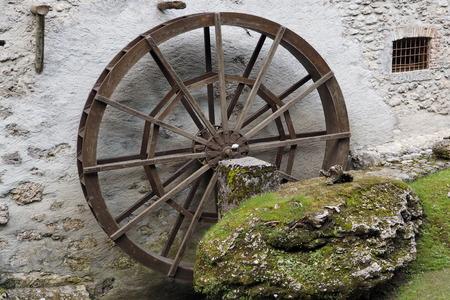 A historic water mill, Castione, Bergamo, Italy.