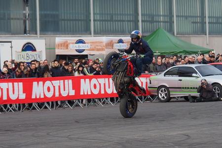 Stunt contest Motor bike expo Verona 2019