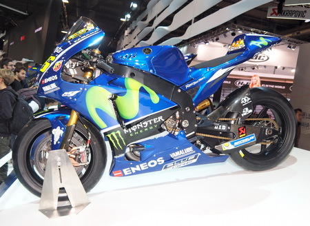 MILAN, ITALY - NOVEMBER 9: Reportage from EICMA, international motorcycle exhibition on NOVEMBER 9, 2017 in Milan