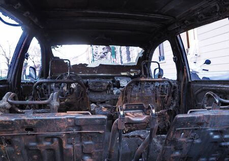 Car burned during New Years barrels