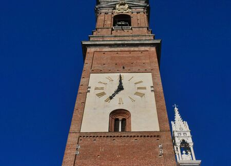 Bells tower of the Monza dome, Lombardy, italy