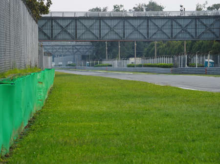 MONZA, ITALY - September 13, 2018: The Autodromo Nazionale Monza, a race track located near the city of Monza, north of Milan, in Italy.