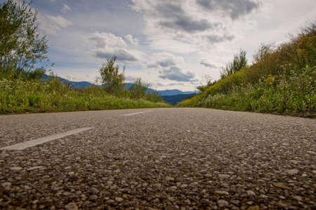 drava: Drava road cycling Stock Photo