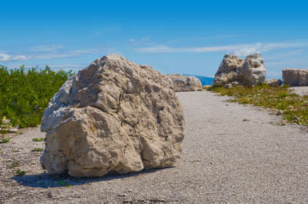 Big stone Stock Photo