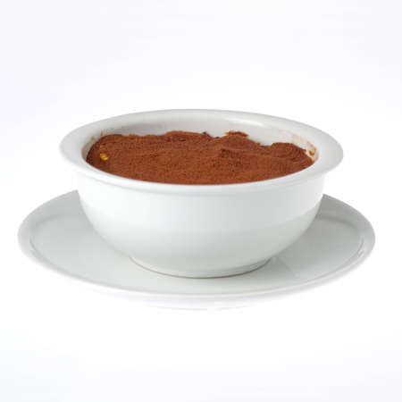 sweet dessert in a white cup