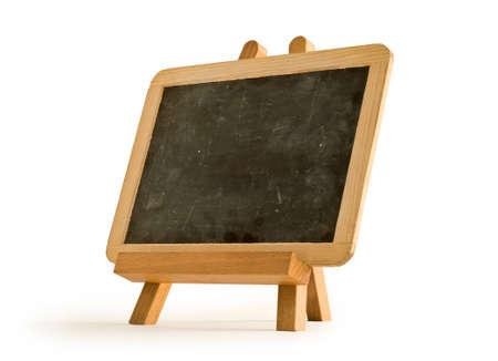 easel for artist. tripod with blackboard.