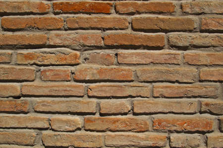 Old red brick wall texture Stock Photo - 12538545