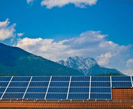 Solar panel. Green energy from sun. Stock Photo - 14487912
