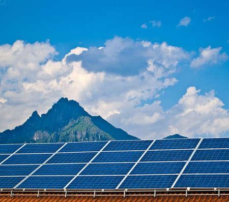Solar panel. Green energy from sun. Stock Photo - 14487911
