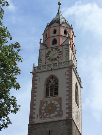 sud tirol: Merano Bell Tower, Sud Tirol