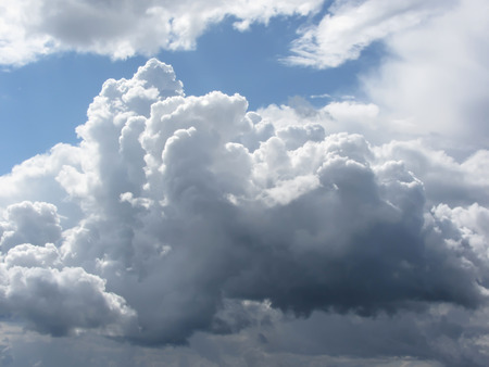 cumulonimbus: Sky with giants cumulonimbus clouds