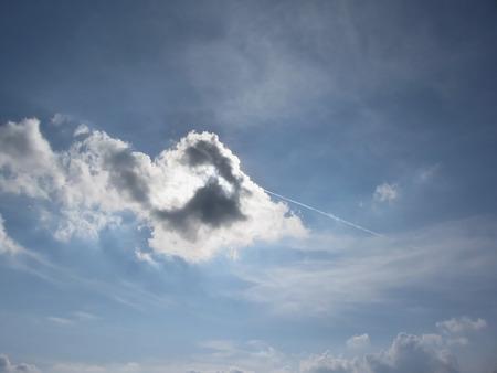 cumulonimbus: Sky with giants cumulonimbus clouds and sun rays through