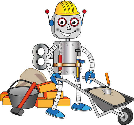 bricklayer: Robot working as a bricklayer