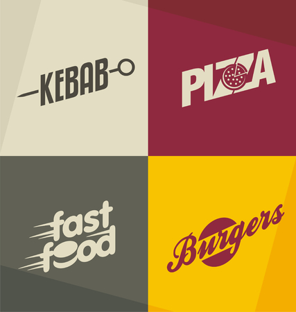 food art: Set of unique fast food design concepts and ideas