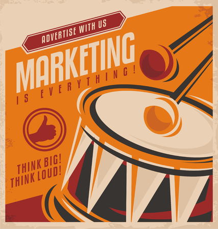 advertising agency: Advertising and marketing creative concept design
