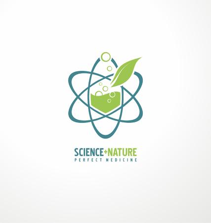 Science and nature for perfect medicine Ilustração