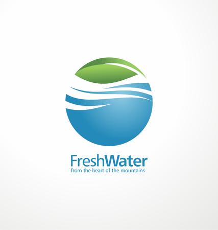 水: 水 向量圖像