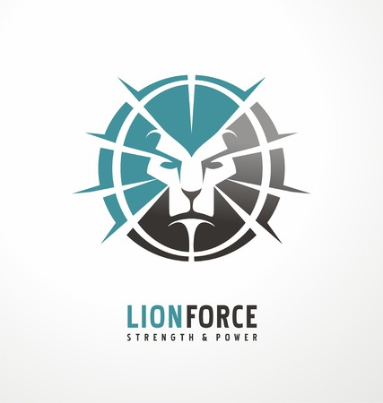 honour: Lion Illustration