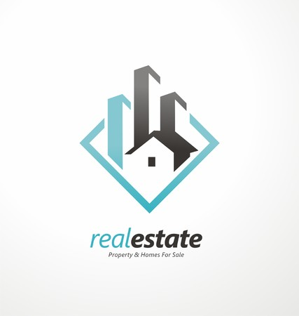 Vector symbol design for real estate company