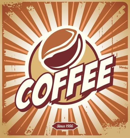 Vintage Coffee Sign