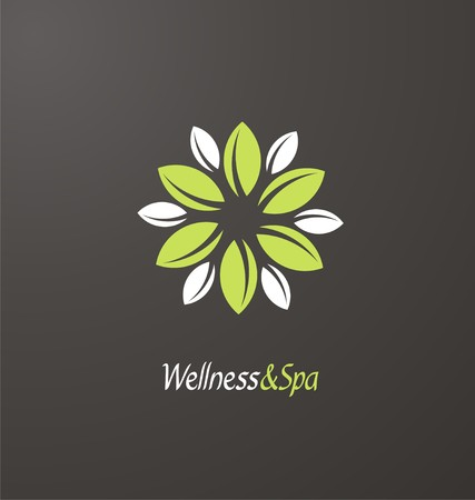 wellness center: Spa and Wellness center creative concept Illustration